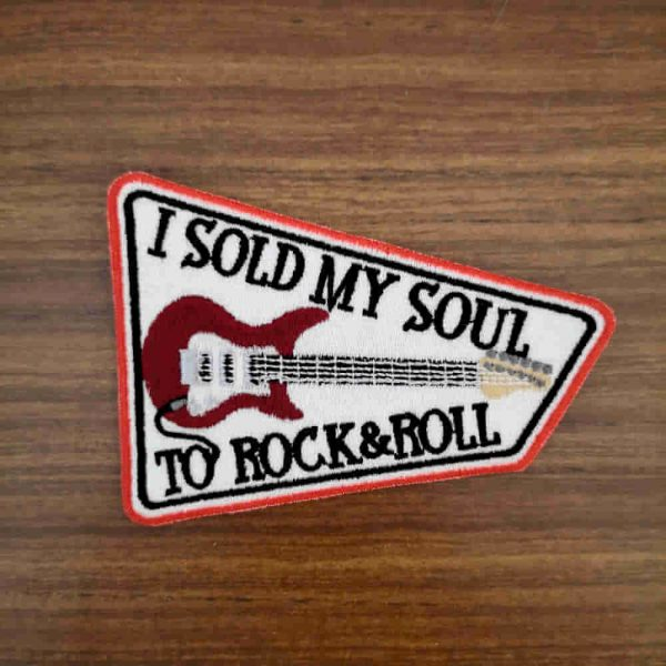 Parche I sold my soul to rock&roll