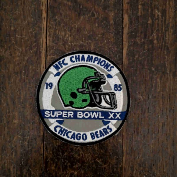 Parche Chicago super bowl nfl