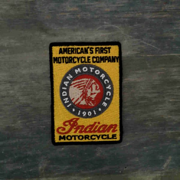 Parche Indian motorcycle