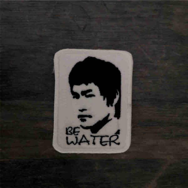 Parche Bruce Lee be water