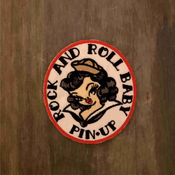 Parche Pin up rock&roll