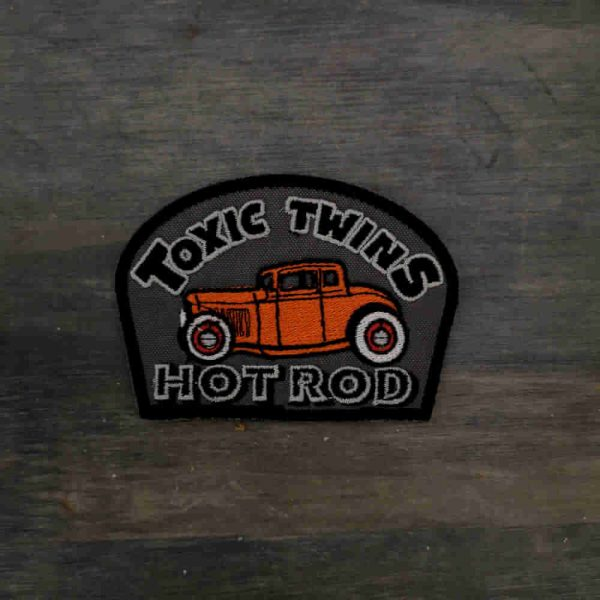 Parche Hot rod toxic twin